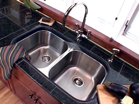 how to install undermount kitchen sink to granite diy sink ideas projects diy