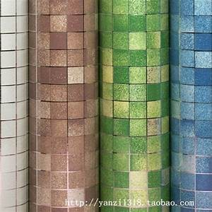 self adhesive wall paper pvc mosaic wallpapers bathroom With self adhesive wall tiles for bathroom