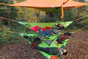 Ces Tentes Et Hamacs Vous Permettent De Camper Dans Les