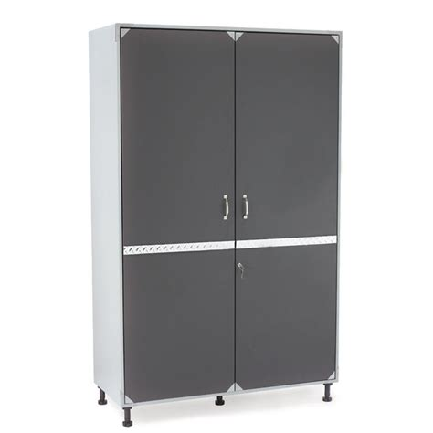storage cabinets at lowes tricore performance series jumbo storage garage cabinet