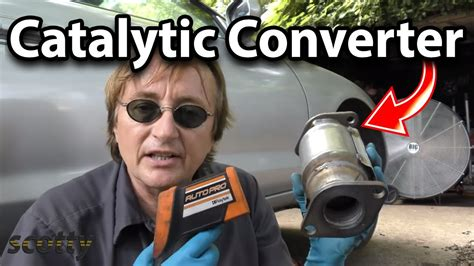 replace catalytic converter   car youtube