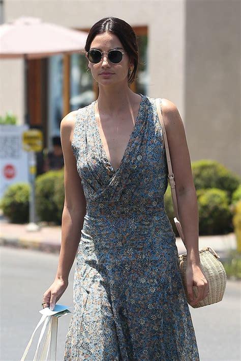Lily Aldridge Shopping Isabel Marant West