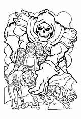 Coloring He Skeletor She Ra Boys Cat Colorir Printable Cartoon Colouring Books Desenhos Character Battle Adult Paginas Masters His Eatock sketch template