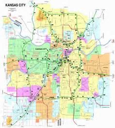 Kansas City Road Map