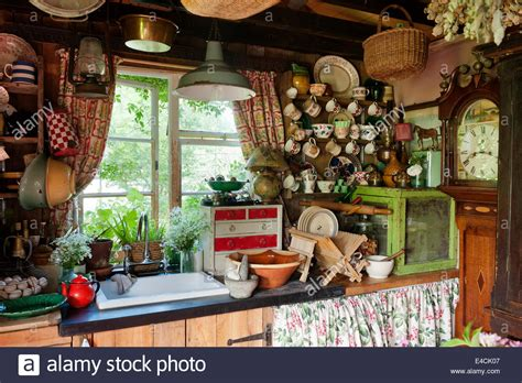 kens country kitchen shabby chic stockfotos shabby chic bilder alamy 2082