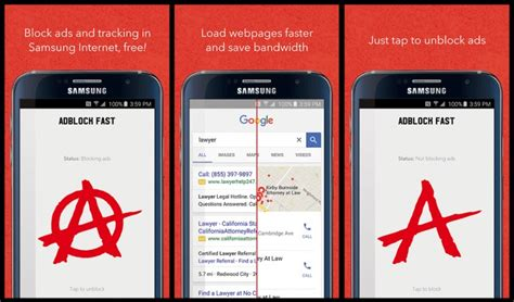 adblock app android ad blocking app for samsung s android browser pulled by