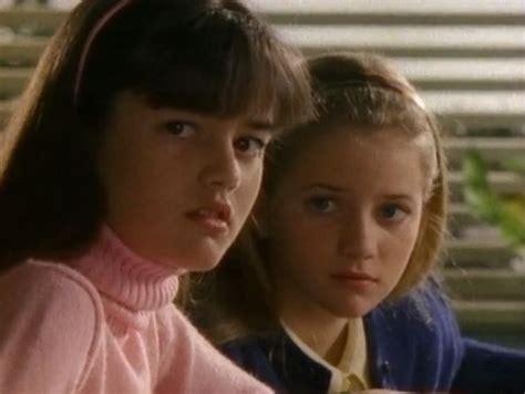 Danica Mckellar And Her Sister In The Wonder Years As