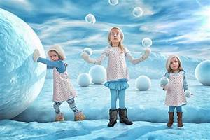 Ingenious Father of 3 Puts His Daughters In Creative Photo ...