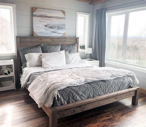 modern farmhouse bed ana white