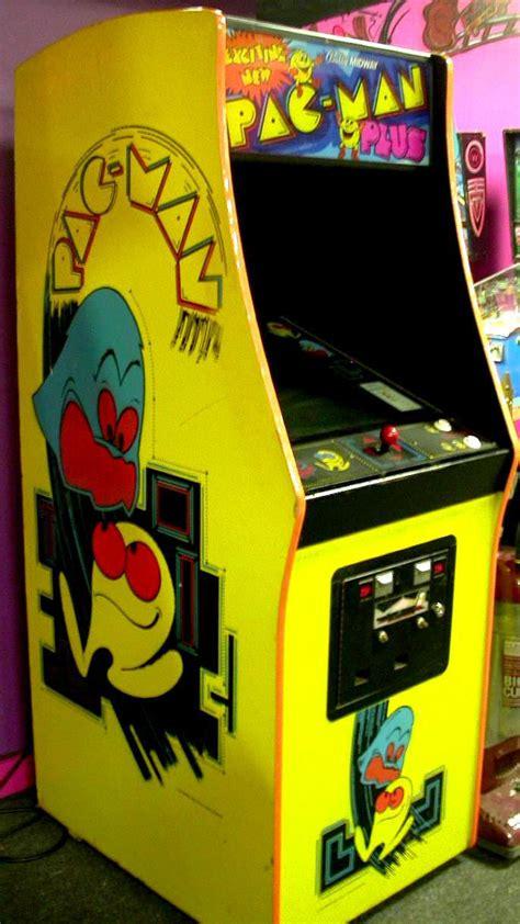 Pac Man Plus Video Arcade Machine