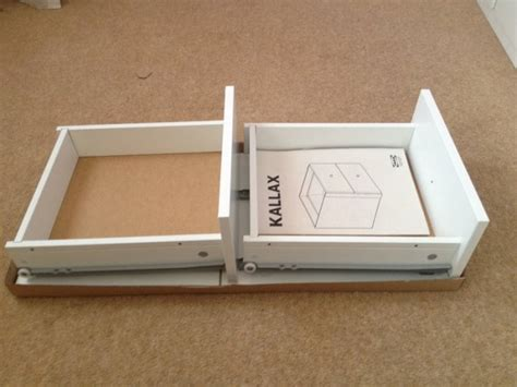 Kallax Insert With 2 Drawers White Ikea For Sale In Swords