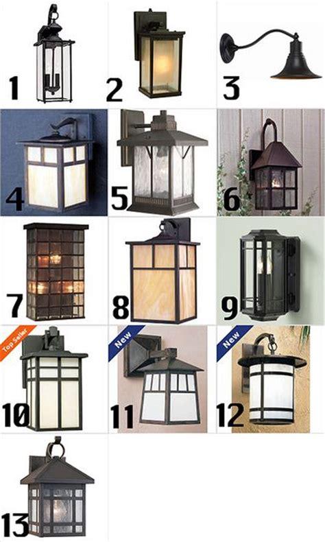 craftsman style exterior lighting craftsman style outdoor lighting craftsman homes pinterest