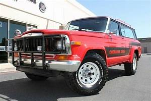 1983 Jeep Cherokee Chief 4wd 199468 Miles Sebring Red Suv