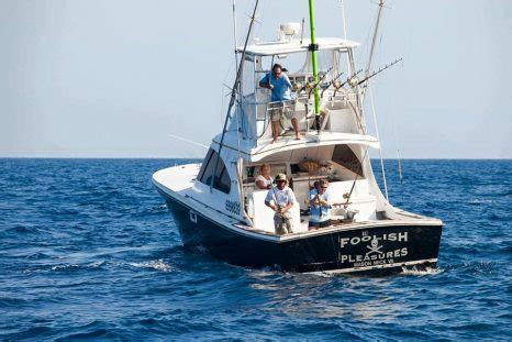 Foolish Pleasure Fishing Boat Captain Lost Arm by Ocean City Boat Featured In Wicked Tuna Outer Banks