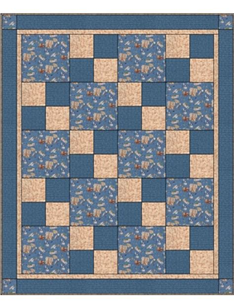 3 fabric quilt patterns sew 3 yard quilt pattern