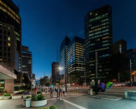 S Paolo Paulista Avenue