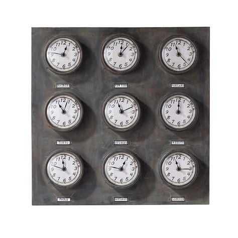 horloge greenwich maisons du monde