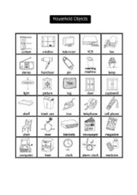 english teaching worksheets household chores