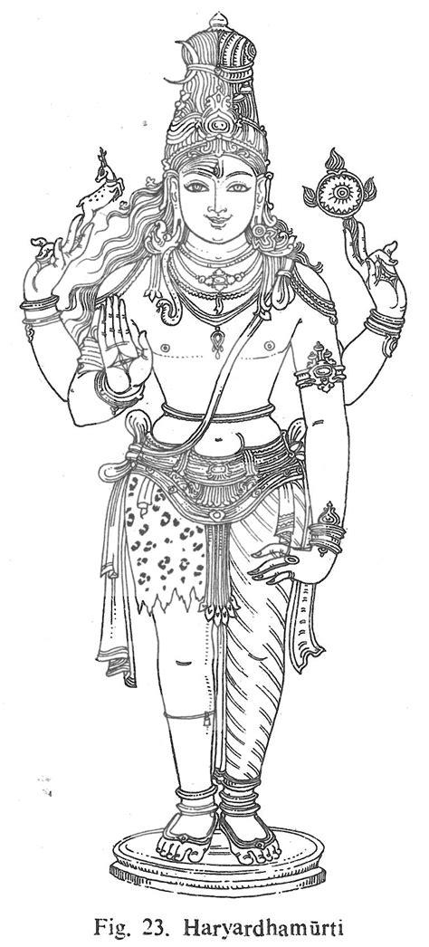 Haryardhamurti | Lotus art, Indian folk art, Hindu art