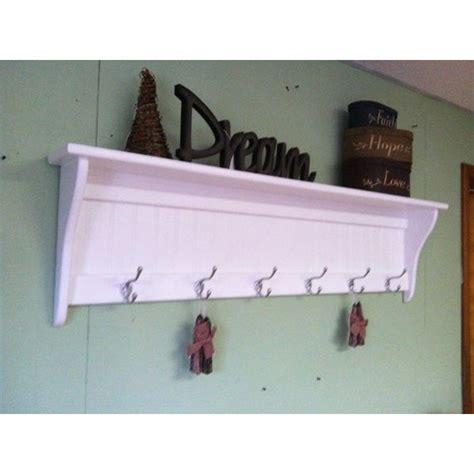 wall mount wood coat rack