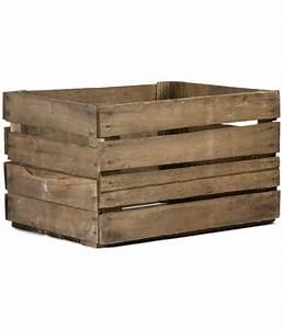 Aufbewahrungsbox 50 X 40 : holzkiste 50 x 40 x 30 cm braun dehner ~ Markanthonyermac.com Haus und Dekorationen