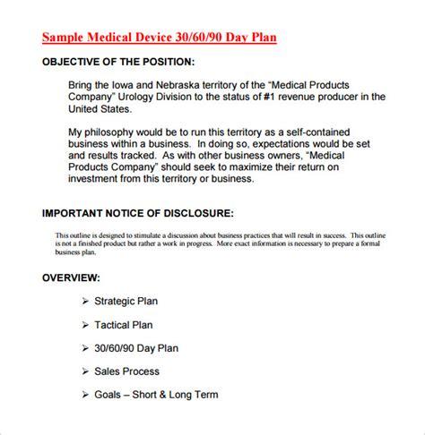 30 60 90 day plan template 19 30 60 90 day plan templates pdf doc free