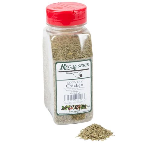 poultry seasoning regal country chicken seasoning 5 oz