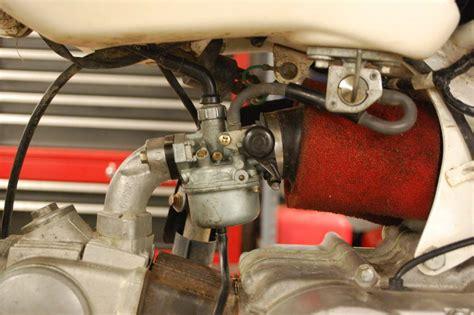 Motorcycle Carburetor Clean Honda Xr70r