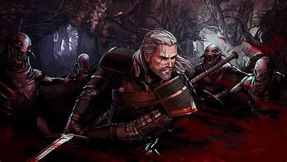 Geralt Rivia Witcher Wallhaven Cc 4k Battle