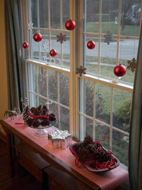 fensterdeko fuer weihnachten wunderschoene dezente und
