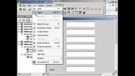 create invoices  template  user form  excel