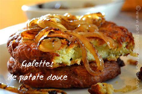 cuisiner la patate douce à la poele galettes de patates douces petits plats entre amis