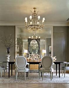 25, Elegant, Black, And, White, Dining, Room, Designs