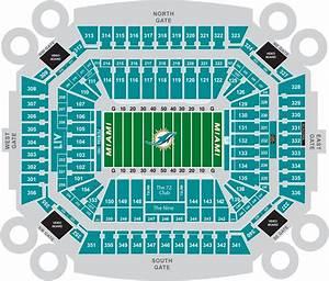 Hard Rock Stadium Miami Dolphins Football Stadium