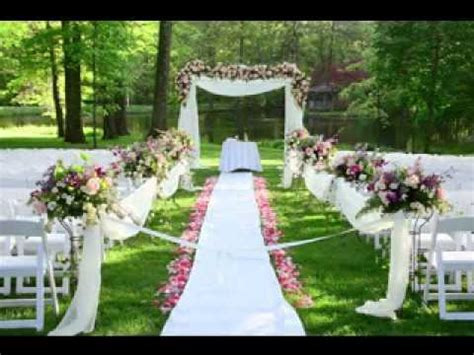 outdoor wedding ideas video compilations youtube