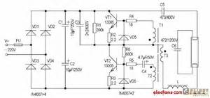 20- 40W electronic ballast principle and maintenance