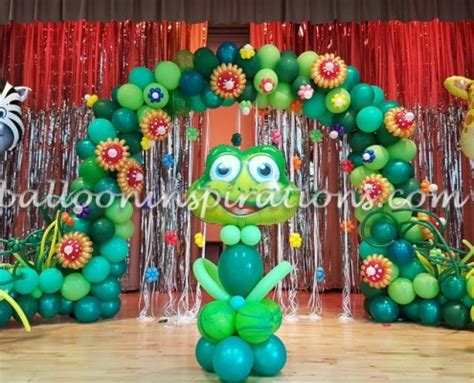 enchanted forest themed childrens party decorations
