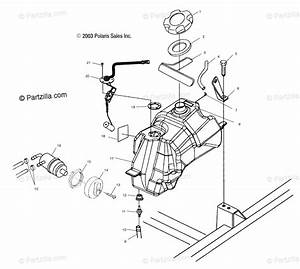Polaris Atv 2004 Oem Parts Diagram For Fuel Tank