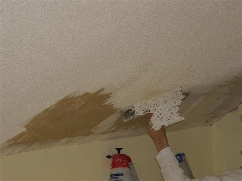 Popcorn Ceiling Removal  Laminate Ceiling With 38