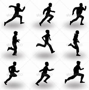 Runner Silhouette Vector | Female fitness, Runners and Running