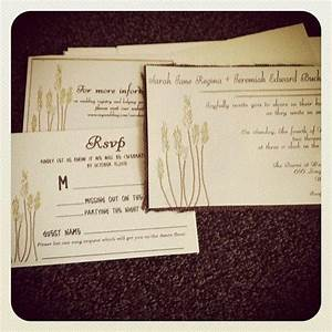 rustic wheat wedding invitation with burlap and With wedding invitations 100 count