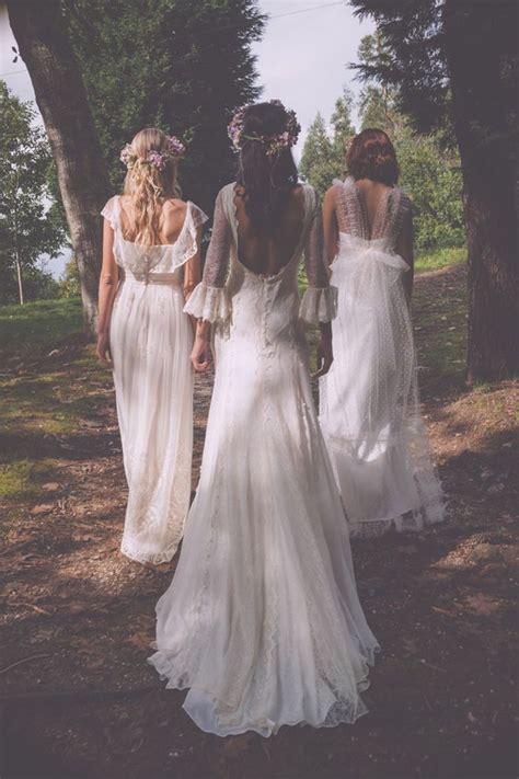 bohemian wedding dresses  stylish brides modwedding