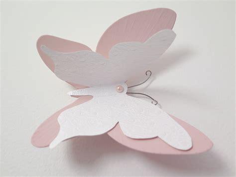 chambre deco nature des stickers papillon en 3d pour une chambre de bébé du