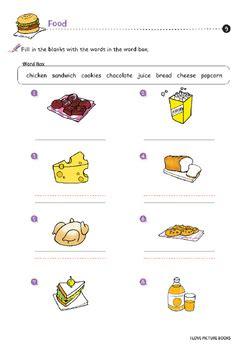 food worksheets  kids printables  worksheet design