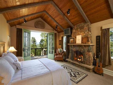 rustic master bedroom beautiful rooms beam ceilings Country