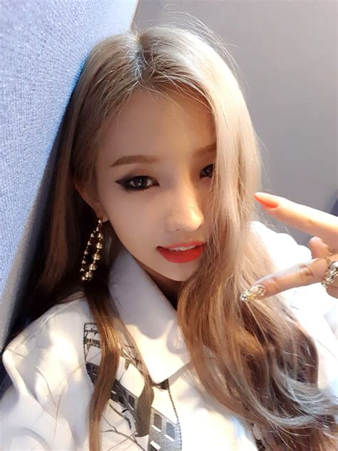 official update soyeon gidle