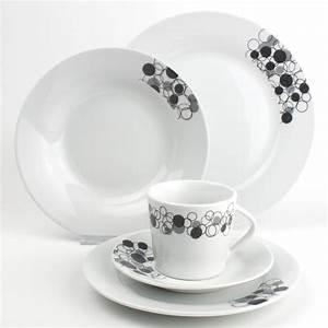Assiette Rectangulaire Ikea : service de table en porcelaine black white pinterest ~ Teatrodelosmanantiales.com Idées de Décoration