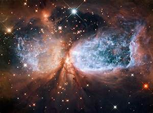 File:Star-forming region S106 (captured by the Hubble ...