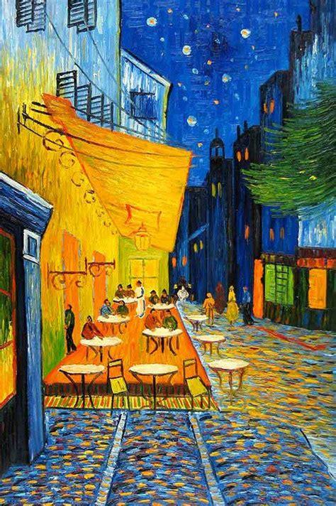 cafe terrace at as pinturas mais famosas da hist 243 ria