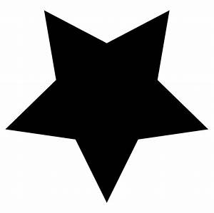 Black Star Clipart Free Stock Photo - Public Domain Pictures